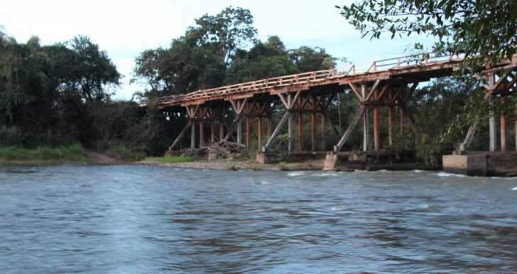 Ponte sobre o Rio São Miguel