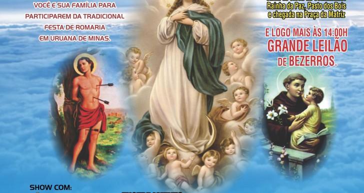 57ª Festa de Romaria de Uruana de Minas