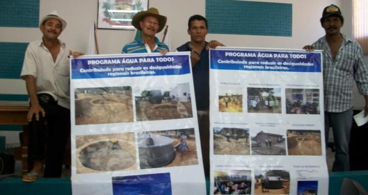 Programa água para todos – Uruana de Minas