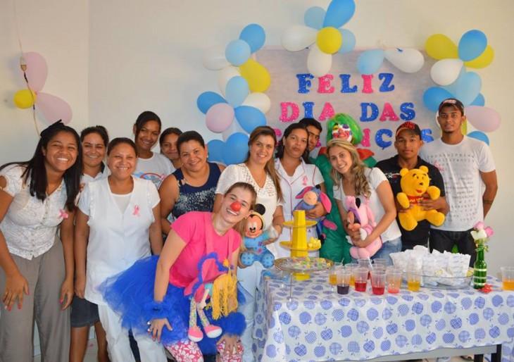 PSF promove o dia das crianças no dia 13/10/2014