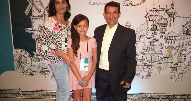 Semi-finalista na Olimpíada da Língua Portuguesa