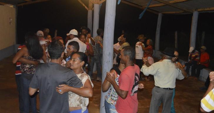 Festa da terceira idade no Cambaúba
