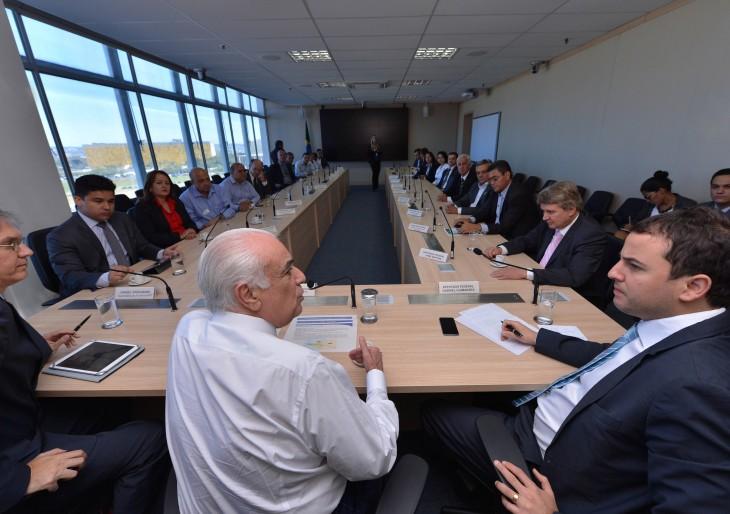 Audiência  com o Ministro do Transporte Antônio Carlos Rodrigues