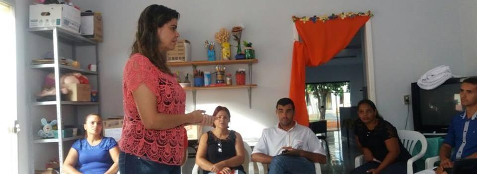 Capacitação CRAS (Centro de Referência Assistência Social).