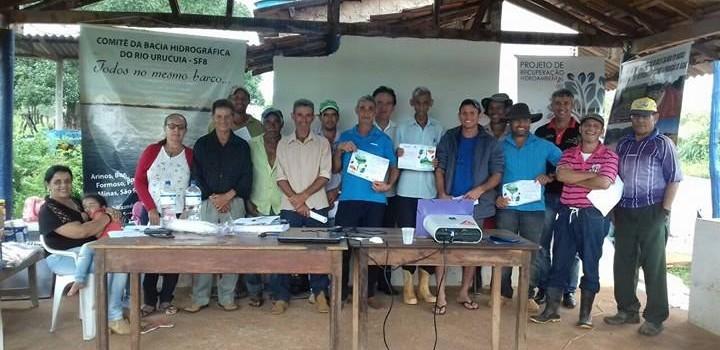 Secretária de Agricultura realiza capacitação com os pequenos produtores no Pasto dos Bois..