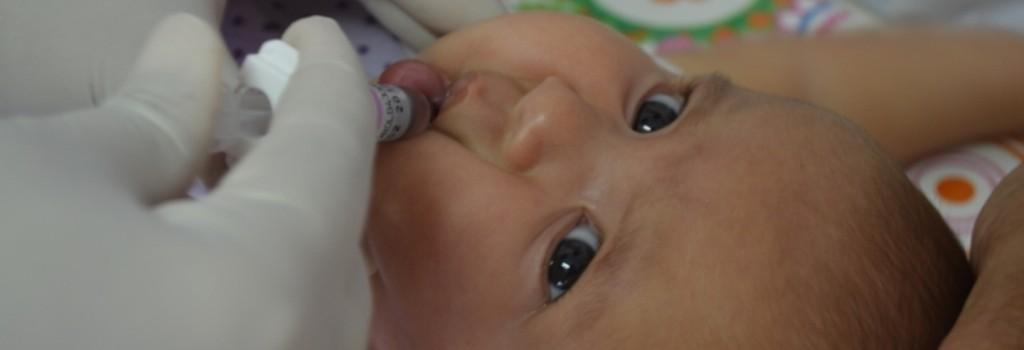 Secretaria de Saúde alerta sobre a importância da Vacinação Infantil.
