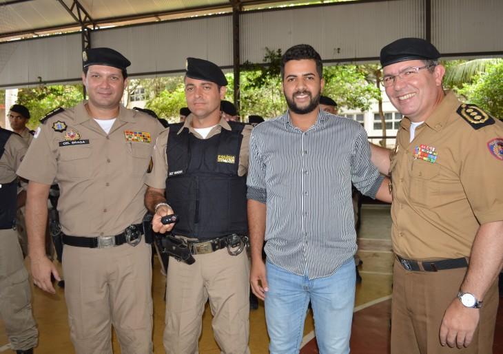Nosso município foi contemplada com mais uma viatura da Policia Militar.