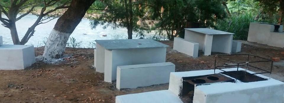 Secretaria de Meio Ambiente realiza mutirão na ponte do São Miguel.