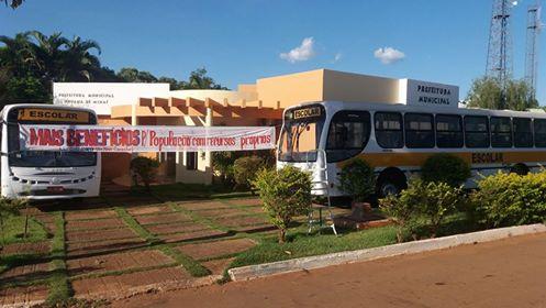Chega em nosso Município dois Ônibus Escolares.