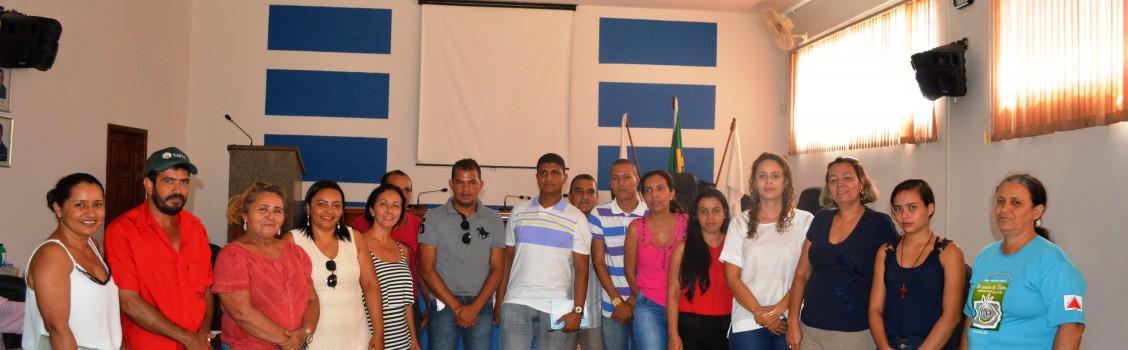 Prefeito Municipal e equipe de governo participa da reunião sobre Pré Romaria da 20ª Romaria das Águas e da Terra de Minas Gerais .