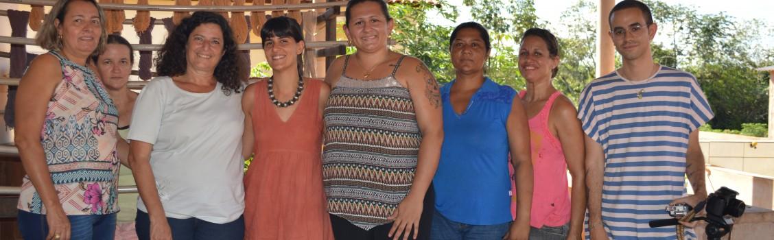 Secretaria de Cultura recebe Estilista Flavia Aranha de São Paulo em nosso município.