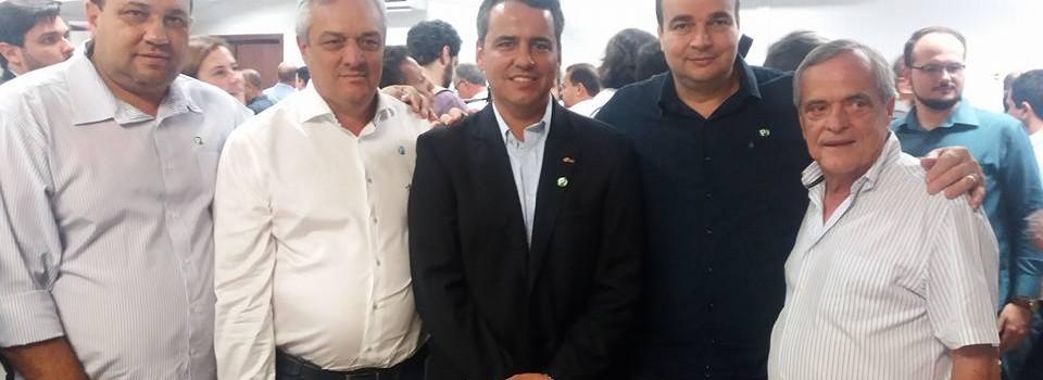 Prefeito Municipal participa da eleição da nova diretoria da AMM.