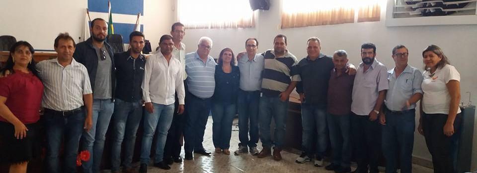 Prefeito Municipal participa da reunião na Câmara de Uruana de Minas sobre a Construção do Hospital do Câncer em Unaí.
