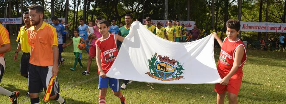 Abertura do Campeonato Municipal 2017.