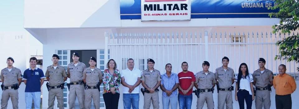 O Município de Uruana é contemplada com mais dois policiais.