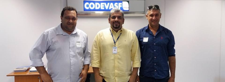 O Prefeito Municipal e Secretário de Agricultura vai a CODEVASF em Montes Claros levar demandas de nosso município.