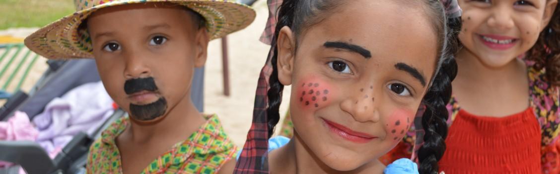 Escola Infantil Balão Mágico realiza festa junina.