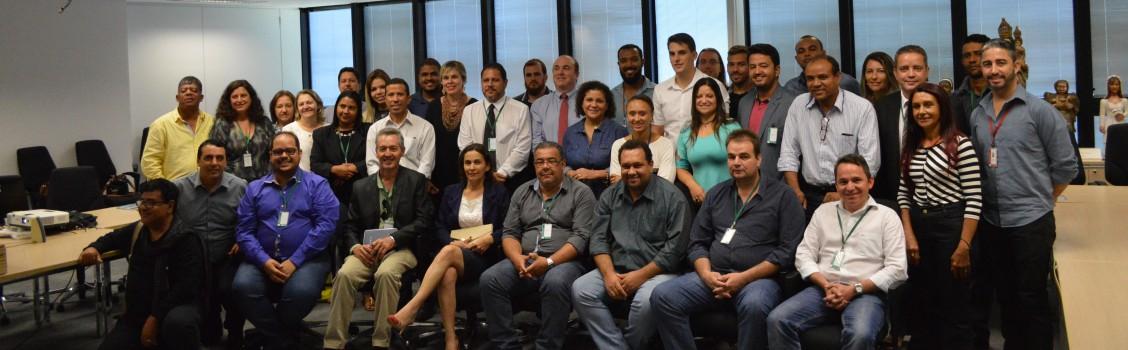 Prefeitura Municipal de Uruana de Minas, participa de reunião na Secretaria de Turismo do Estado de Minas Gerais, em BH.