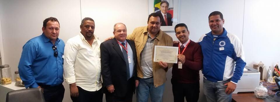 Prefeito assina o Termo de Cooperação Mútua e parceria com COHAB MINAS.
