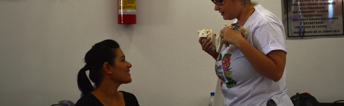 A Secretária de Assistência Social Gislene Mota, promove o primeiro encontro do Dona do Meu Fluxo, para mulheres uruanenses.