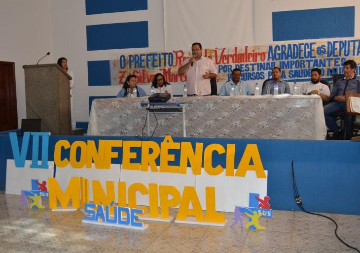 VII Conferência Municipal de Saúde.