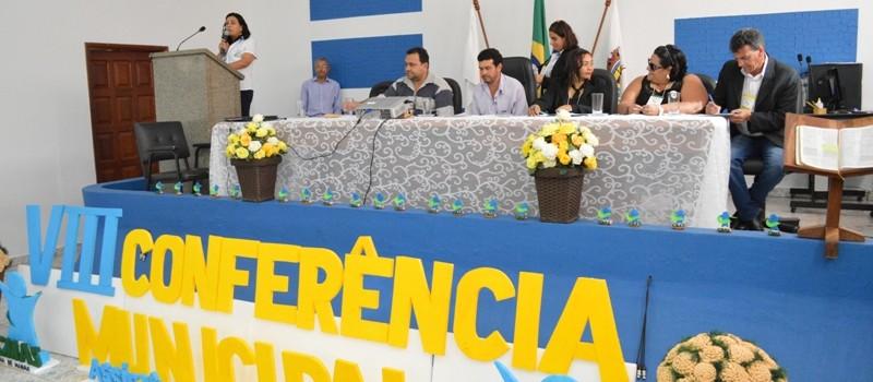 VIII Conferência Municipal da Assistência Social.
