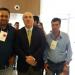 Prefeito Municipal e Presidente da Câmara participam do lançamento do Portal de Turismo, durante o I Encontro de Gestores Públicos Municipais do Turismo do Estado de Minas Gerais.