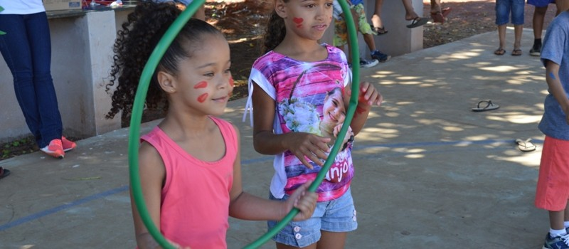 A Secretaria Municipal de Assistência Social comemora Dia das Crianças.