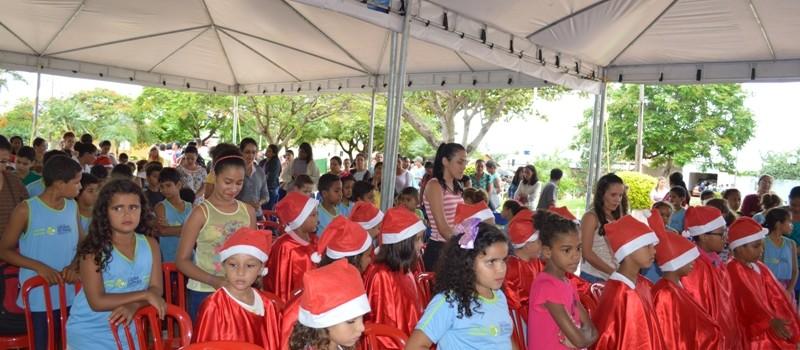 Momento Ecumênico encerramento do ano letivo das escolas da rede municipal.