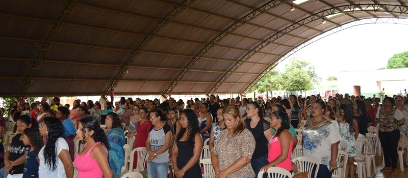 Secretaria Municipal de Assistência Social, realiza homenagem as mulheres Uruanenses.