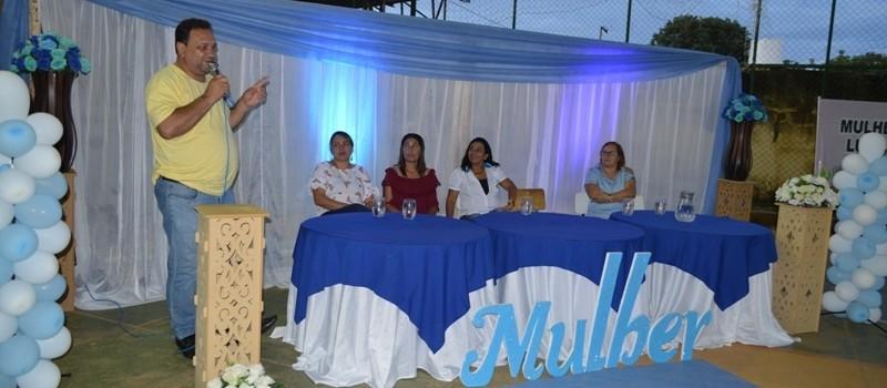 Secretaria Municipal de Assistência Social, realiza homenagem as mulheres do Distrito do Cercado.