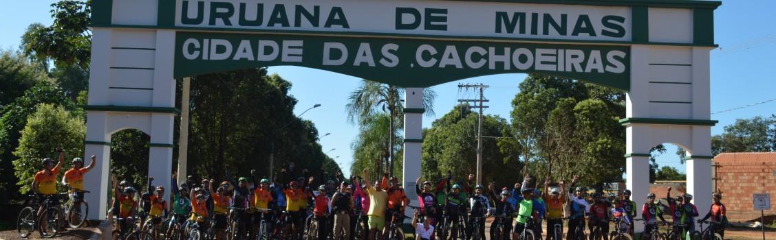 Prefeitura Municipal de Uruana de Minas, apoia Passeio Ciclistíco.