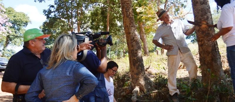 TV Globo Minas faz matéria sobre o Tingimento Natural em Uruana de Minas.