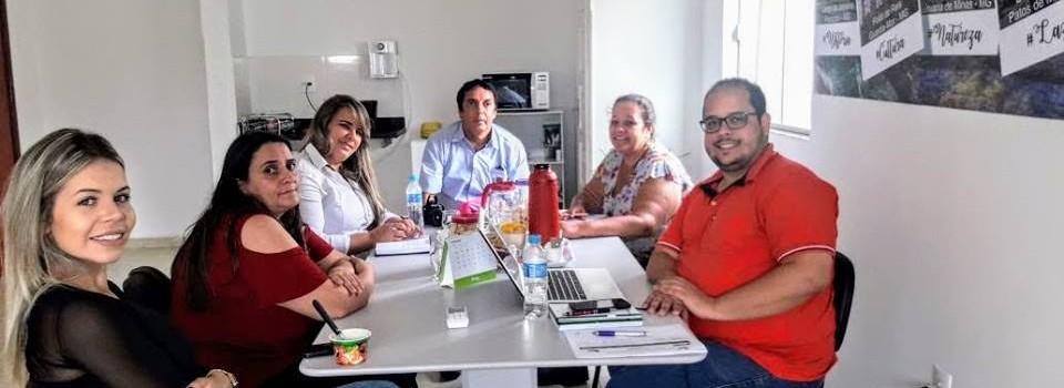 Assembleia Extraordinária da diretoria do Circuito em Paracatu, traçando metas para o desenvolvimento turístico 2018.