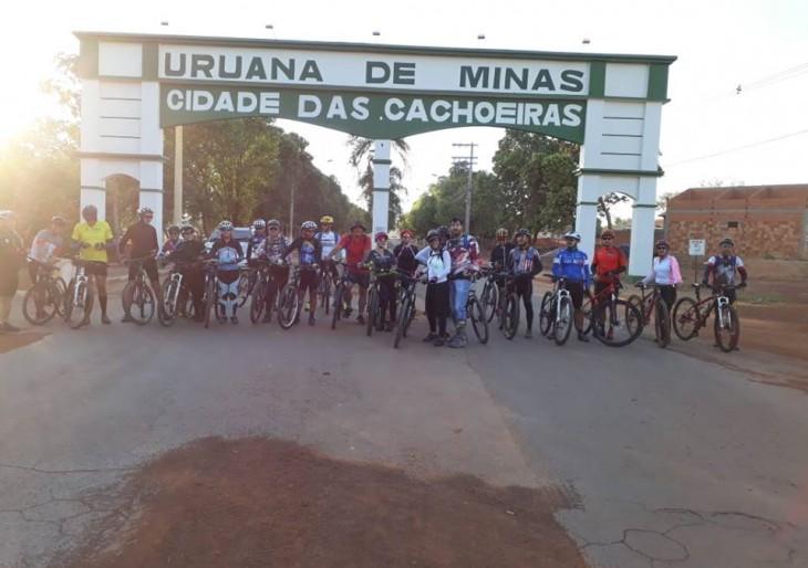 O Governo Municipal  incentiva e apoia a pratica de Cicloturismo recebendo turistas de toda região.
