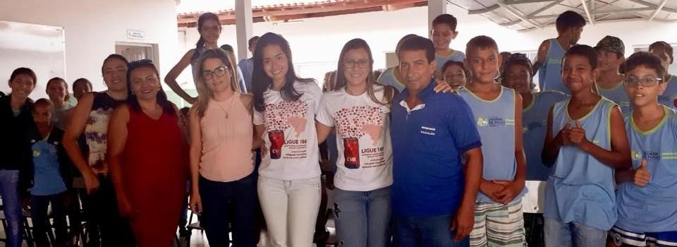 Campanha Setembro Amarelo em Uruana de Minas.
