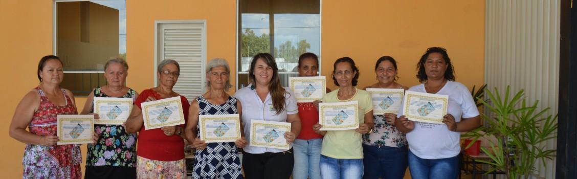 Secretaria Municipal de Cultura realiza curso de Bordado Resgate da Cultura.