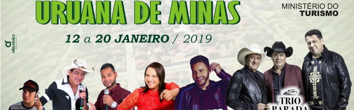 22° Aniversário de Uruana de Minas.