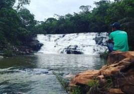 Topo da Cachoeira Jiboia