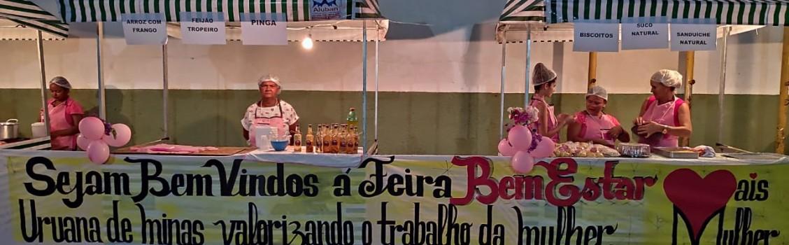 AÇÃO SOCIAL VALORIZANDO A MULHER.